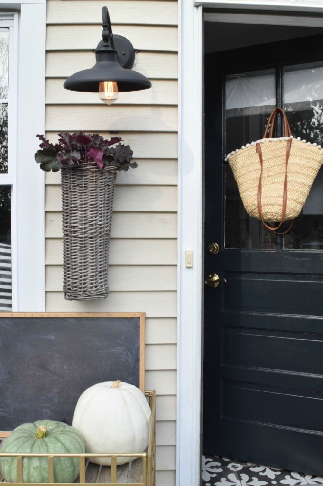 Fall Home Tour- Come inside a Tiny Cape
