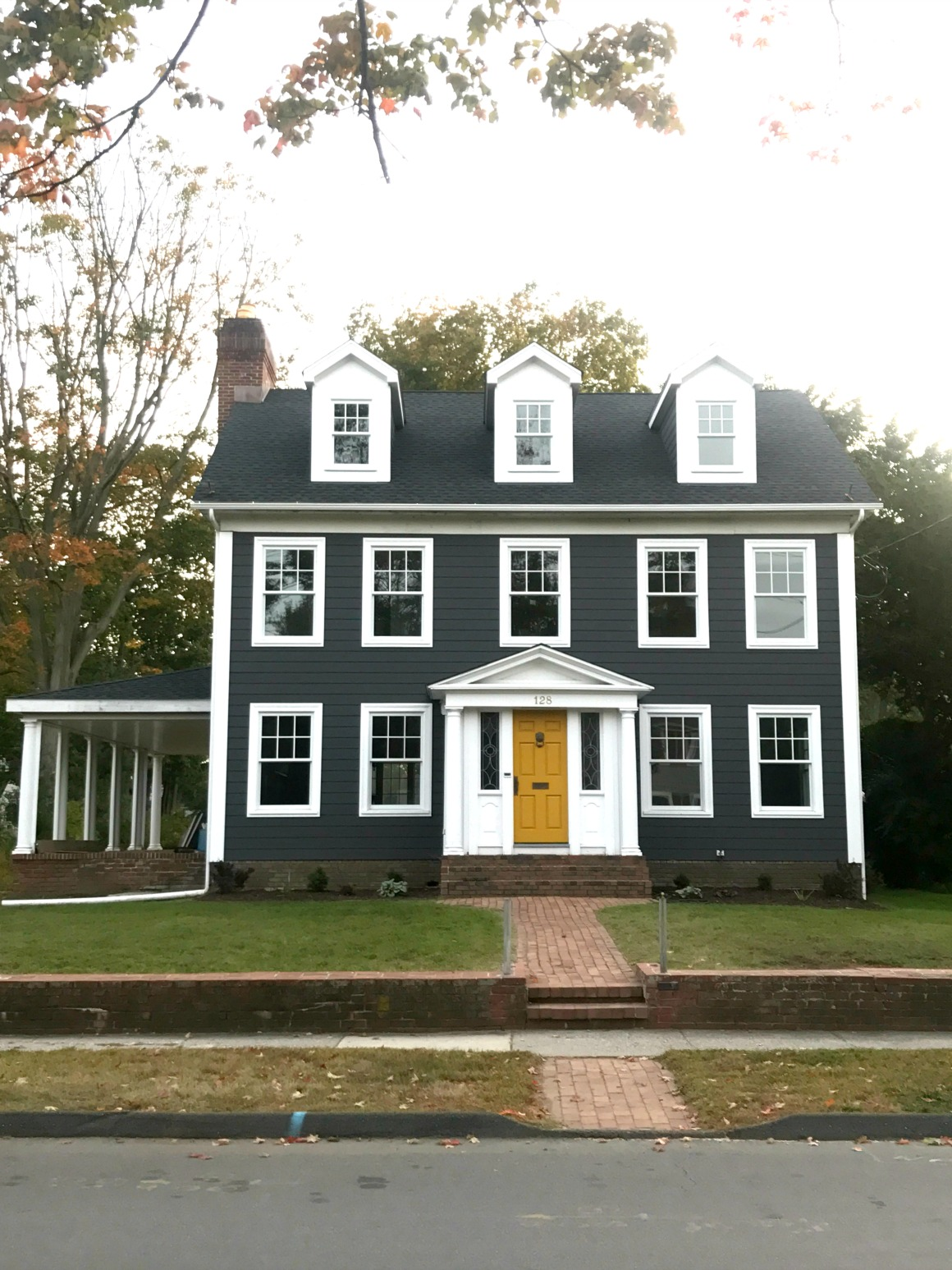 A Few of My Favorite Things- Major Curb Appeal Connecticut Charmer