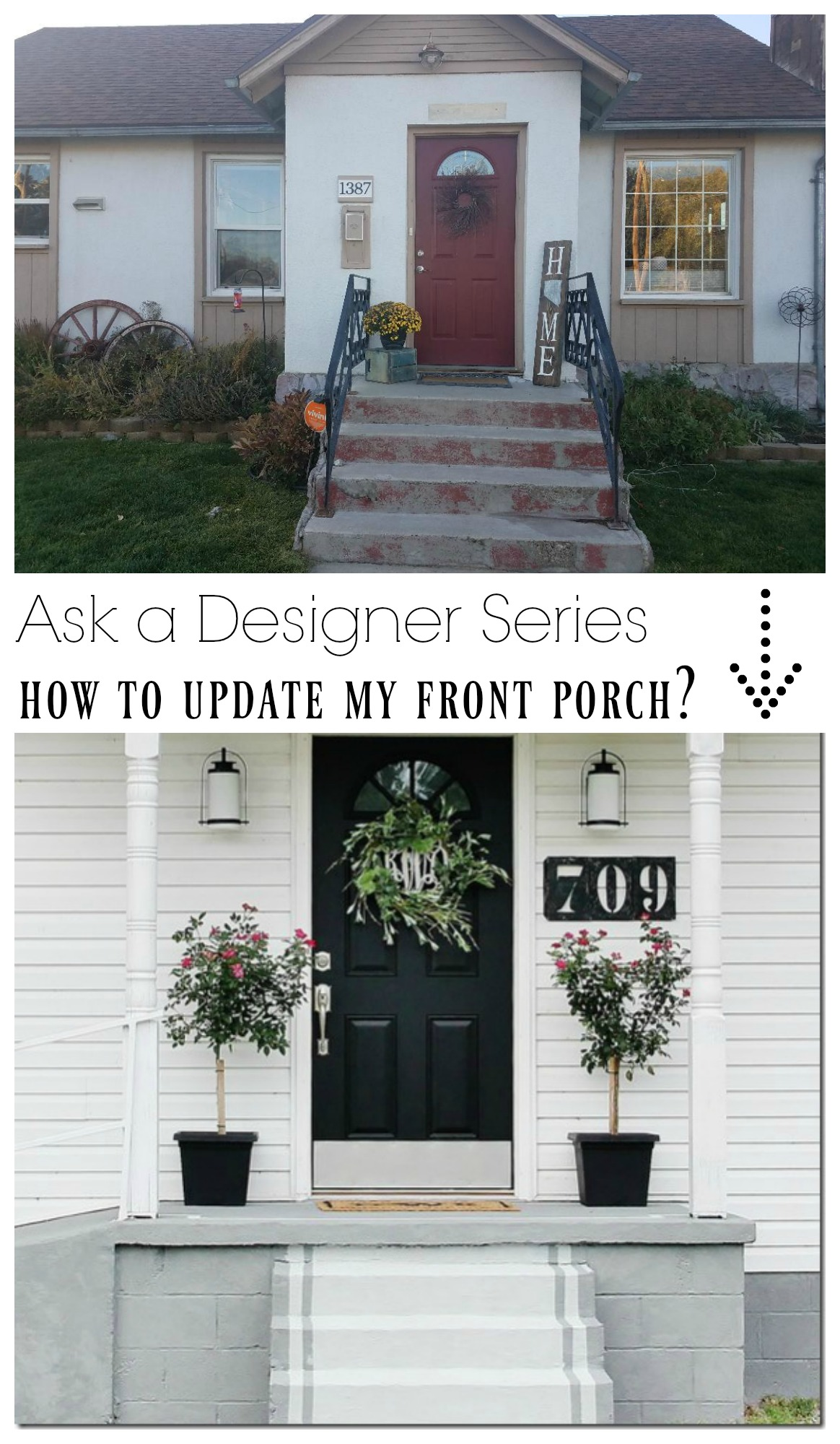 Ask a Designer Series- How to give my home some Curb Appeal?