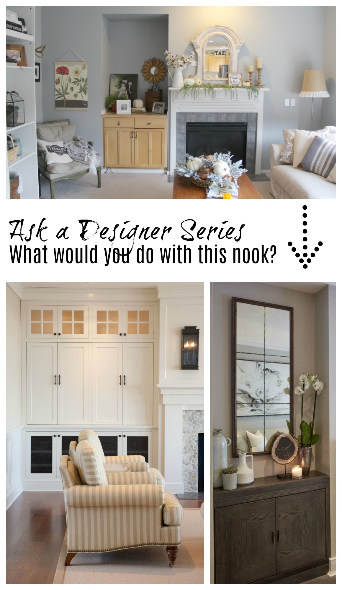 Ask a Designer Series- Help with Fireplace Wall, Girls Room and ...