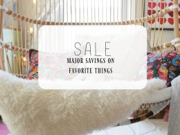 SALE- Major Savings from Favorite Home Decor Stores