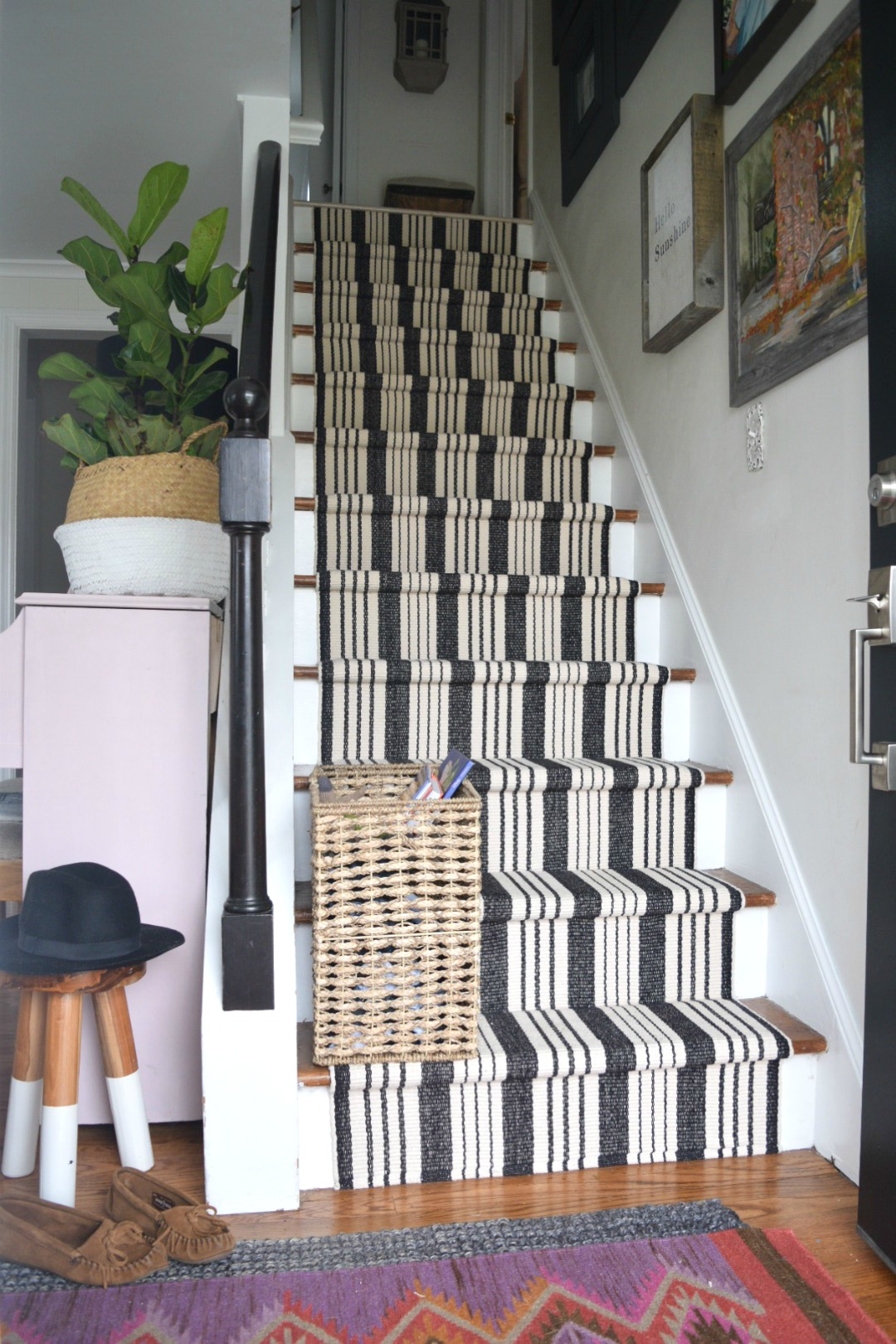 Donu0027t Make The Mistakes We Made Installing A Stair Runner