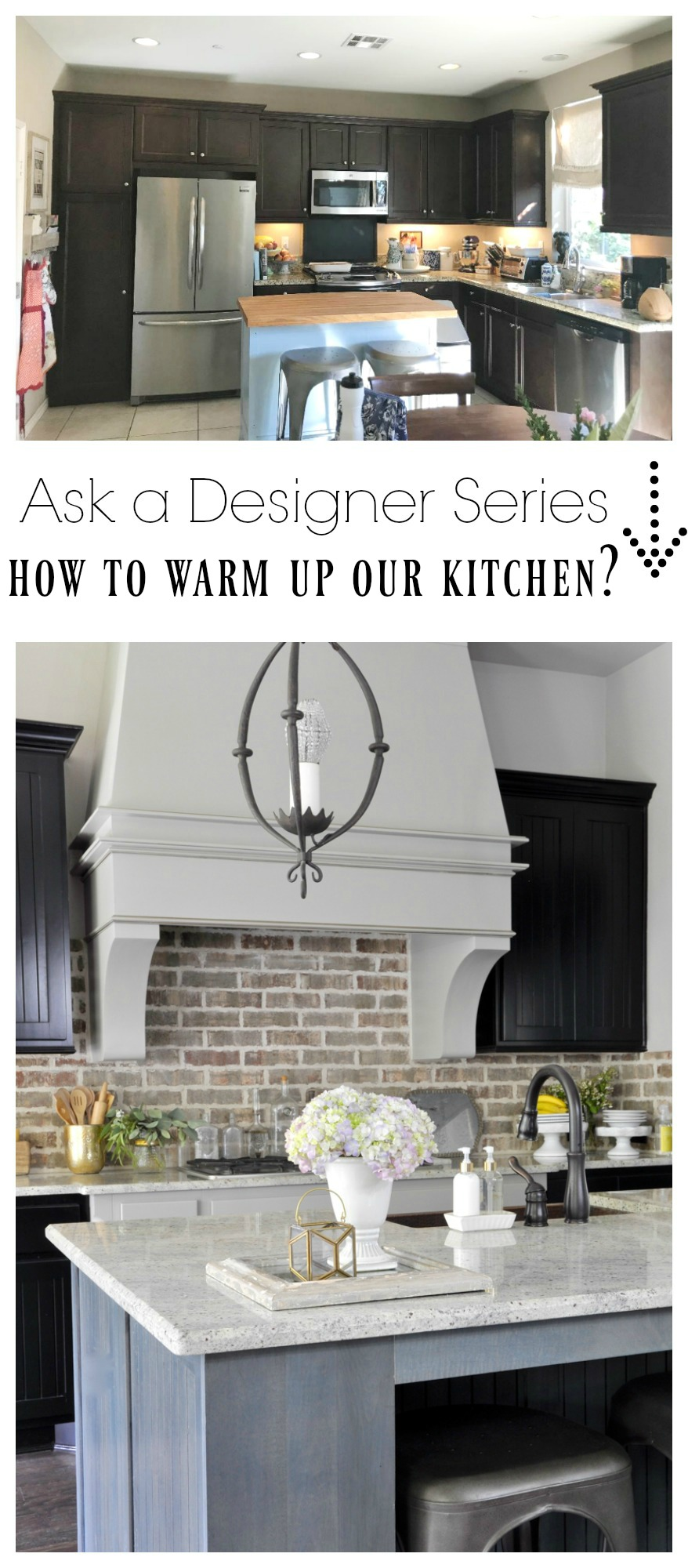 Ask a Designer Series- How To Warm Up A Kitchen