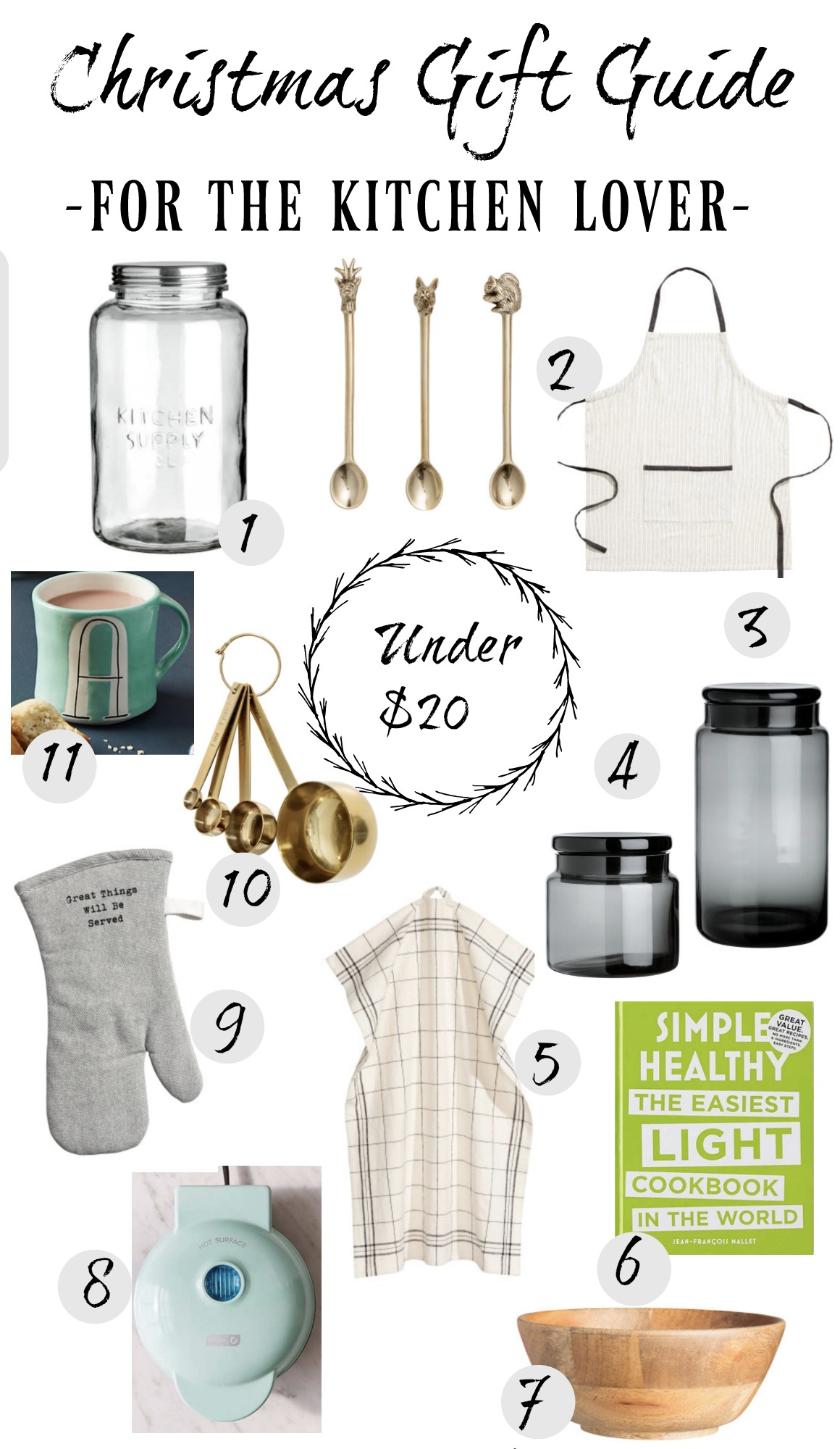 Christmas Gift Guide For Her Under 20 Nesting With Grace