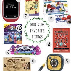 Christmas Gift Guide for KIDS- Our FAVORITES