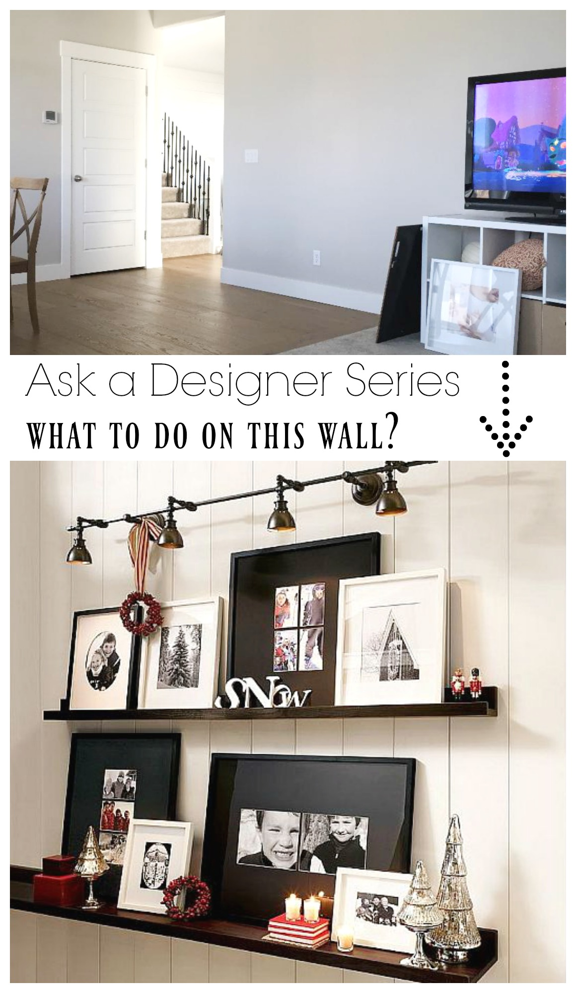 Ask a Designer Series- Idea of Wall of Large Floating Shevles