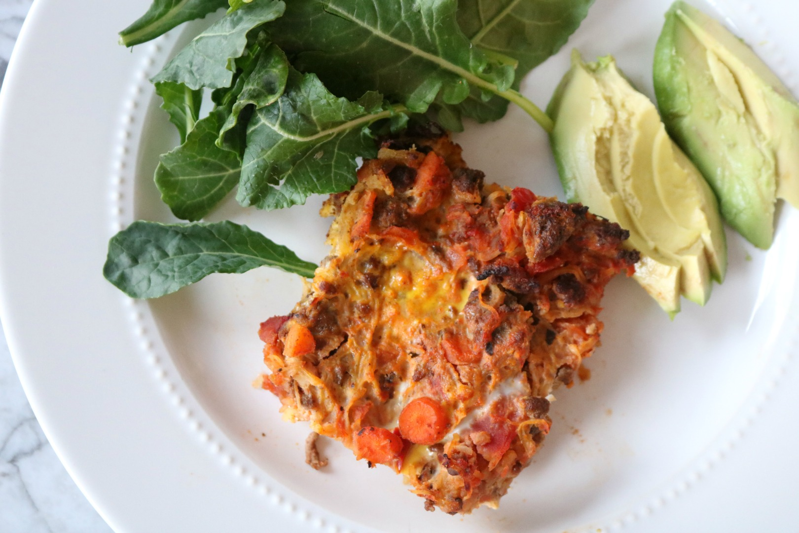Quick and Healthy Dinner- Spaghetti Squash Mexican Casserole