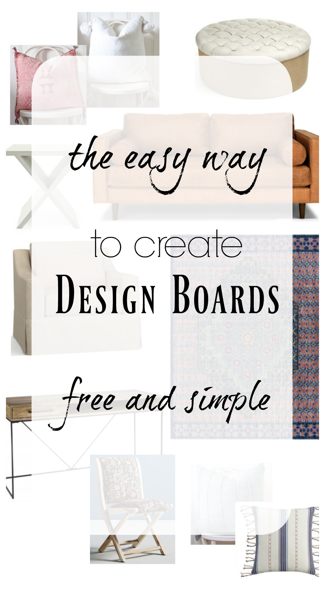 How To Create A Design Board And Where To Start Designing A Room