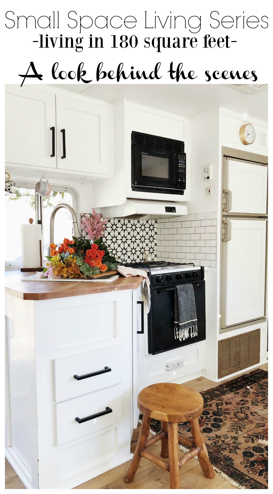 Small Space Living Series- Living in 180 Square Feet
