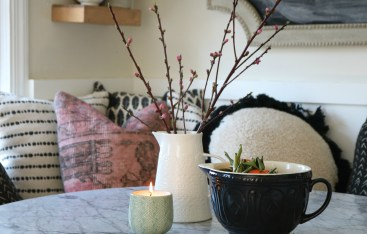 Spring Home Tour and Video of our 1100 Square Foot Home