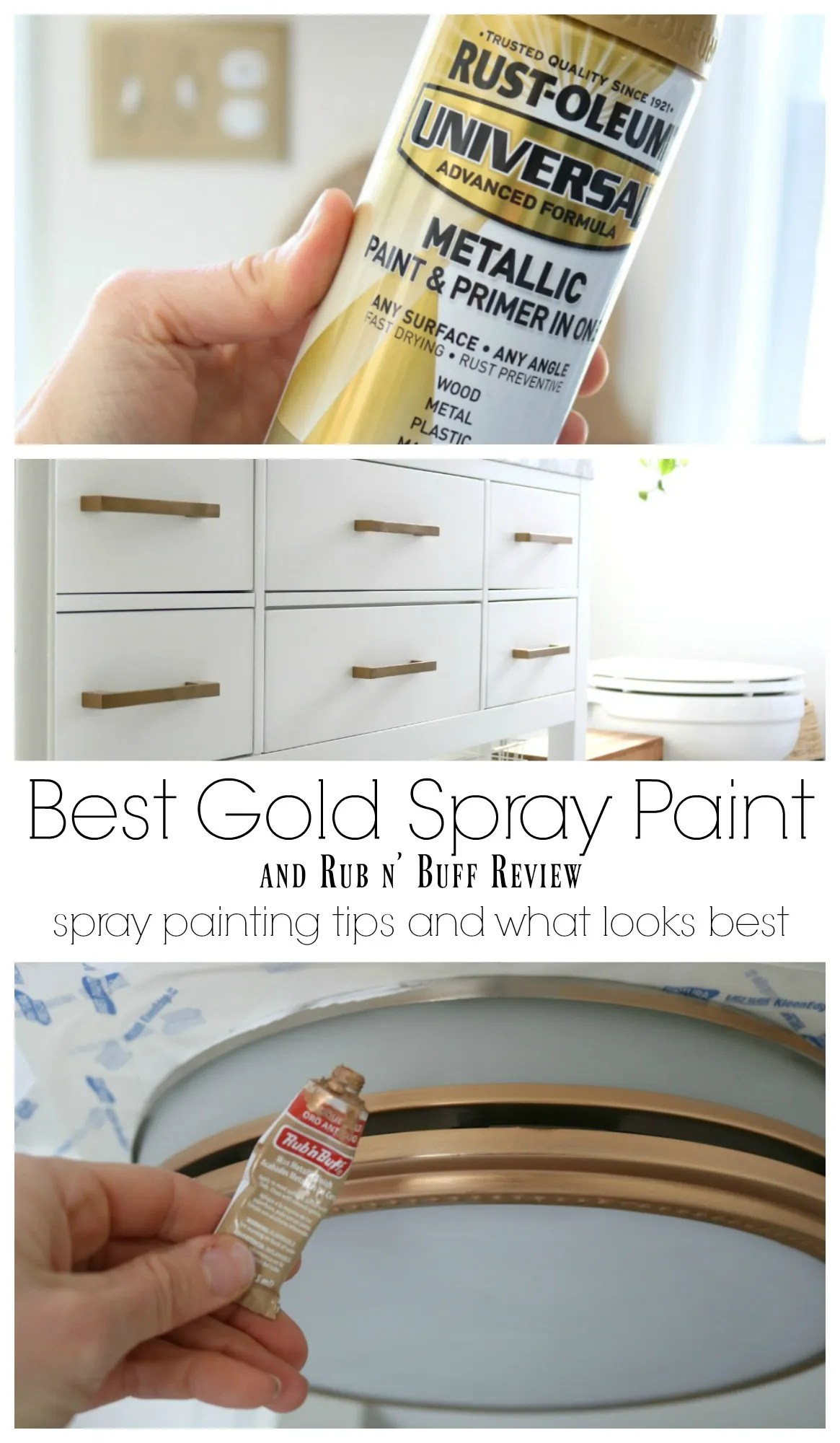 The Best Gold Spray Paint- Spray Paint Tips