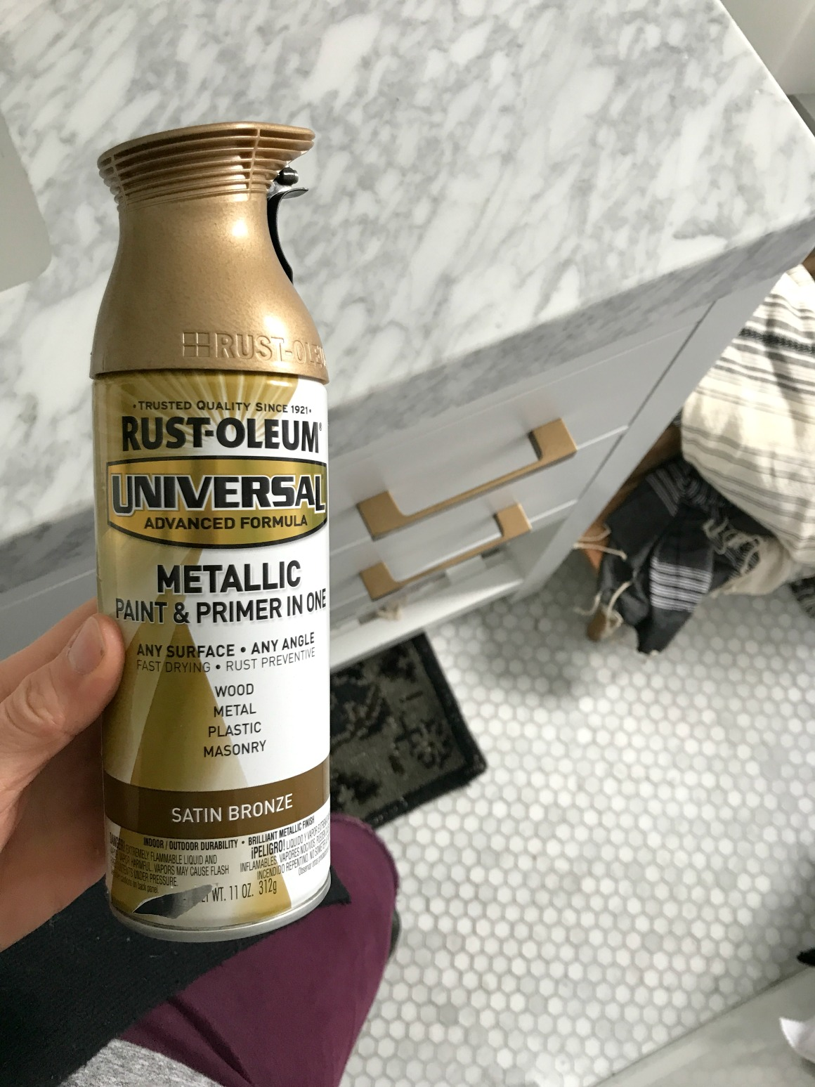Favorite Spray Paint and Rub n' Buff Experience - Nesting