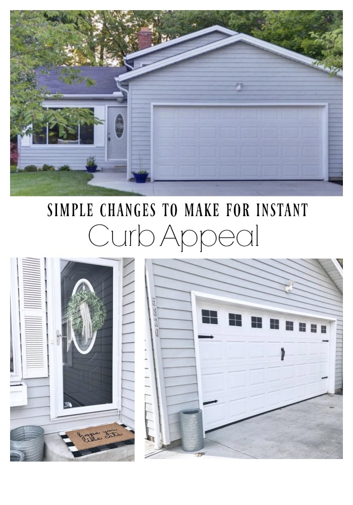 Simple Changes to make for Instant Curb Appeal