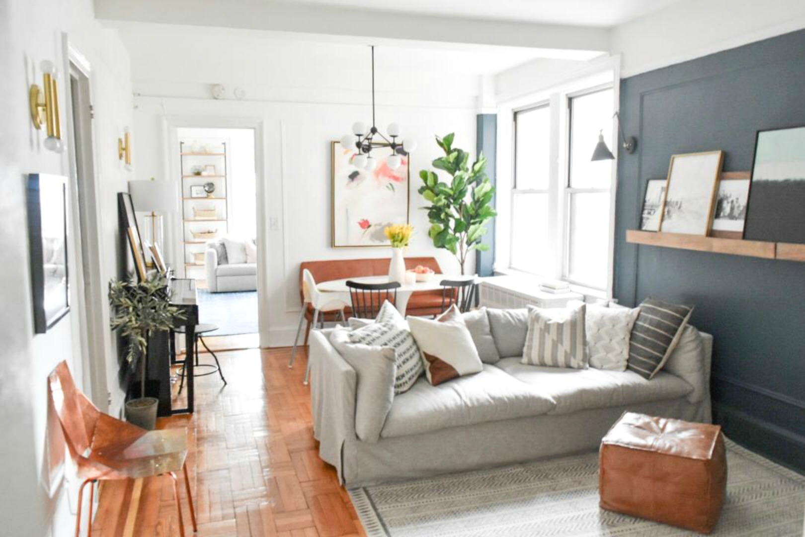 Small Space Living Series- New York City Apartment with ...