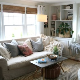 Friday Favorites starts with Simple Sofa Change, Curb Appeal and Secretary Desks