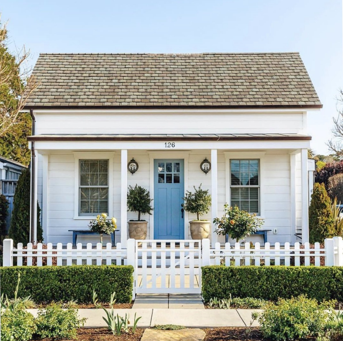 Exterior Inspiration- Home with No Shutters