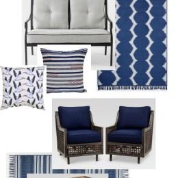 Target Outdoor Sale and Outdoor Patio Design Plan