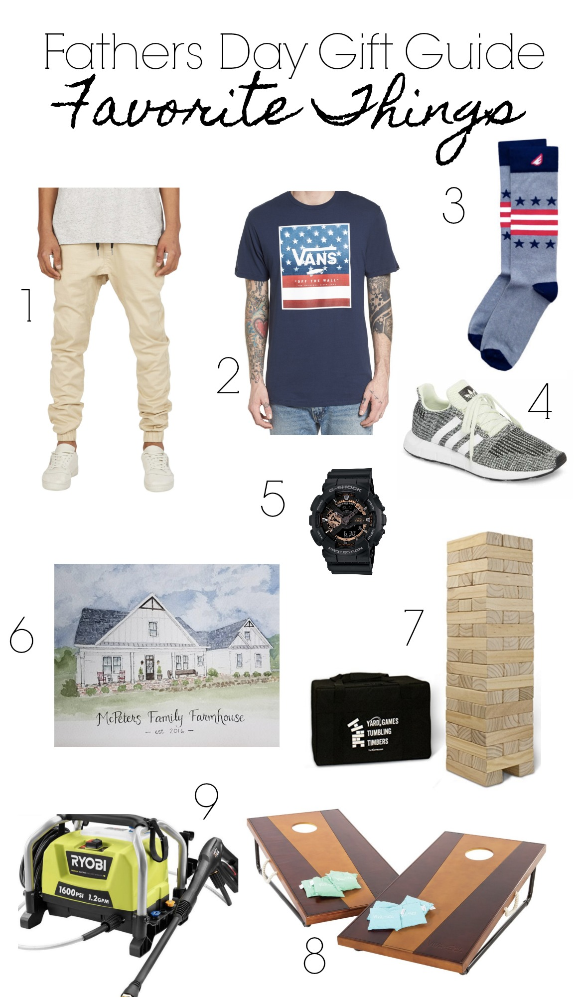 Fathers Day Gift Guide!