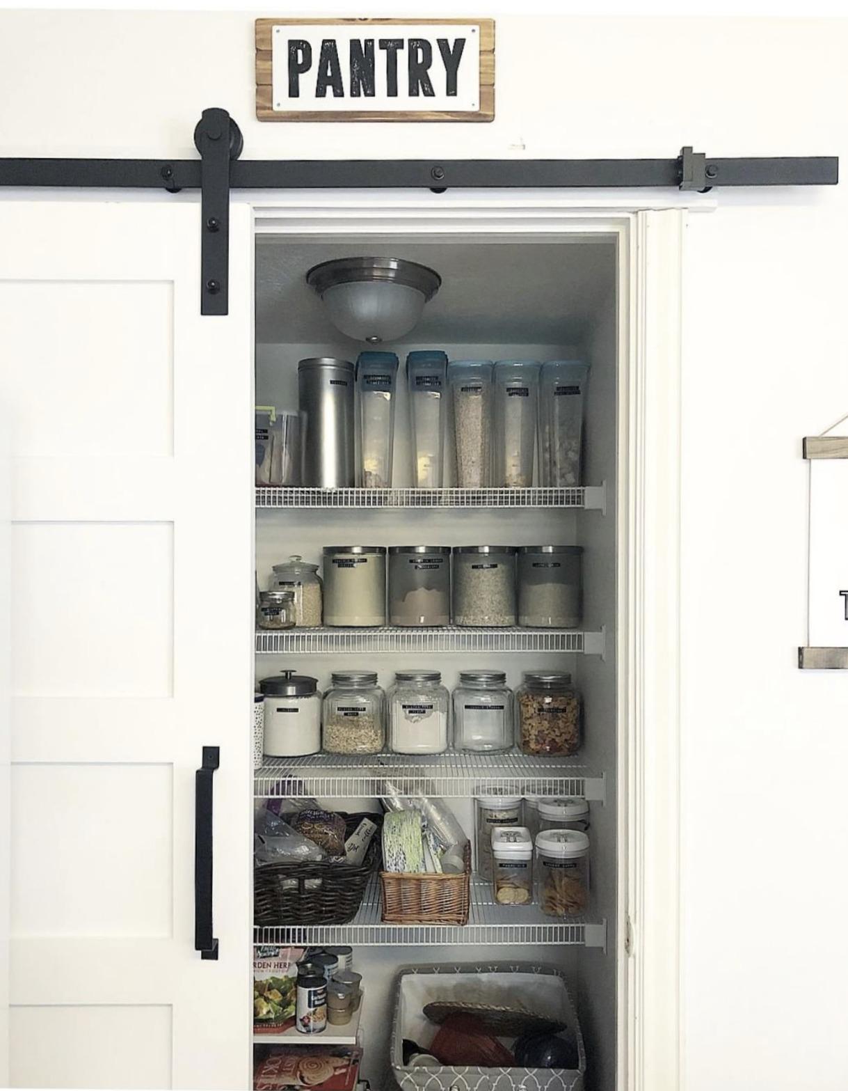 Friday Favorites- Organizing Challenge- Labeled Pantry