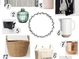 Home Decor Favorites- From h&m Home