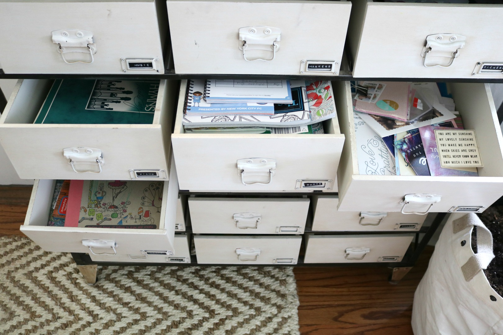 Small Space Living Series- Organizing Hacks in Our 1200 Square Foot ...