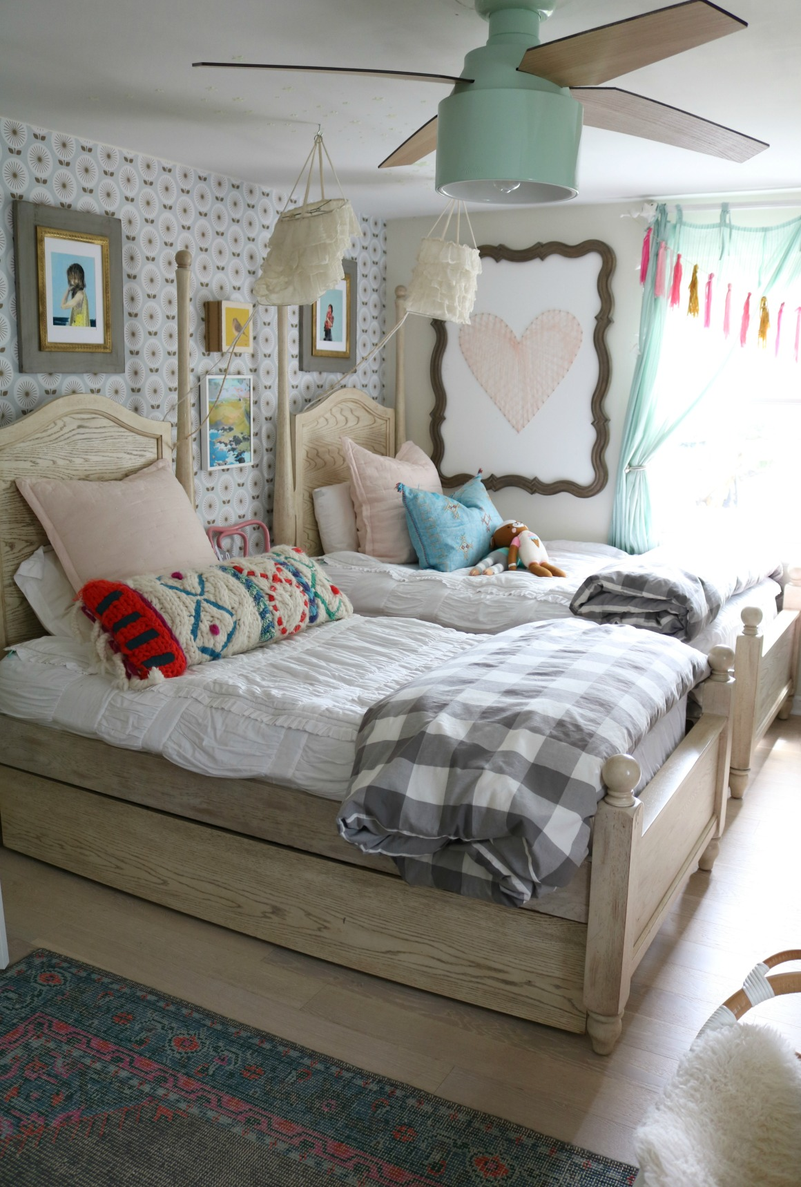 Girls Bedroom Changes And Twin Beds And Bunkbed Options Nesting