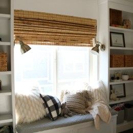 Bamboo Woven Shades and Fabric Roman Shades- Ultimate Guide
