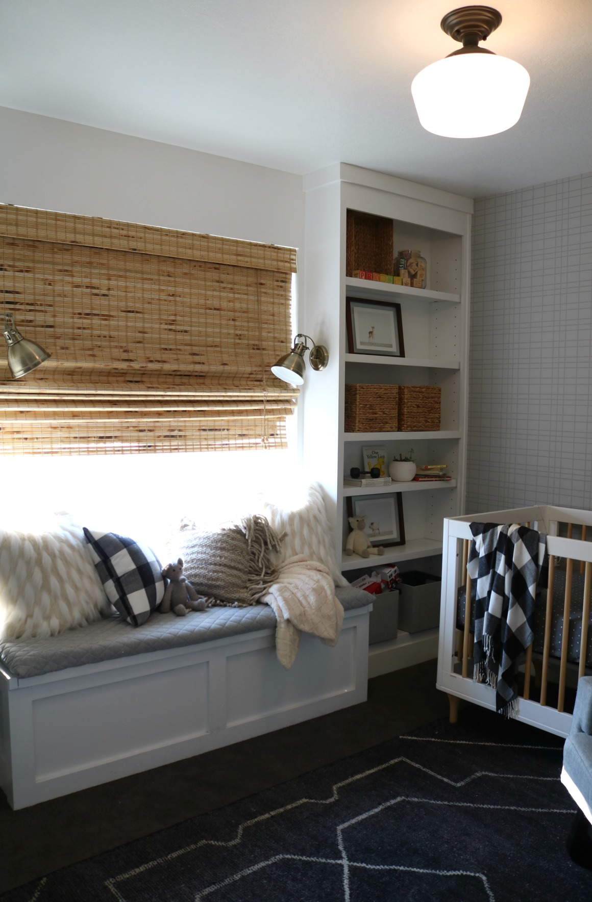 Affordable Bamboo Woven Shades And Fabric Roman Shades Ultimate Guide Nesting With Grace