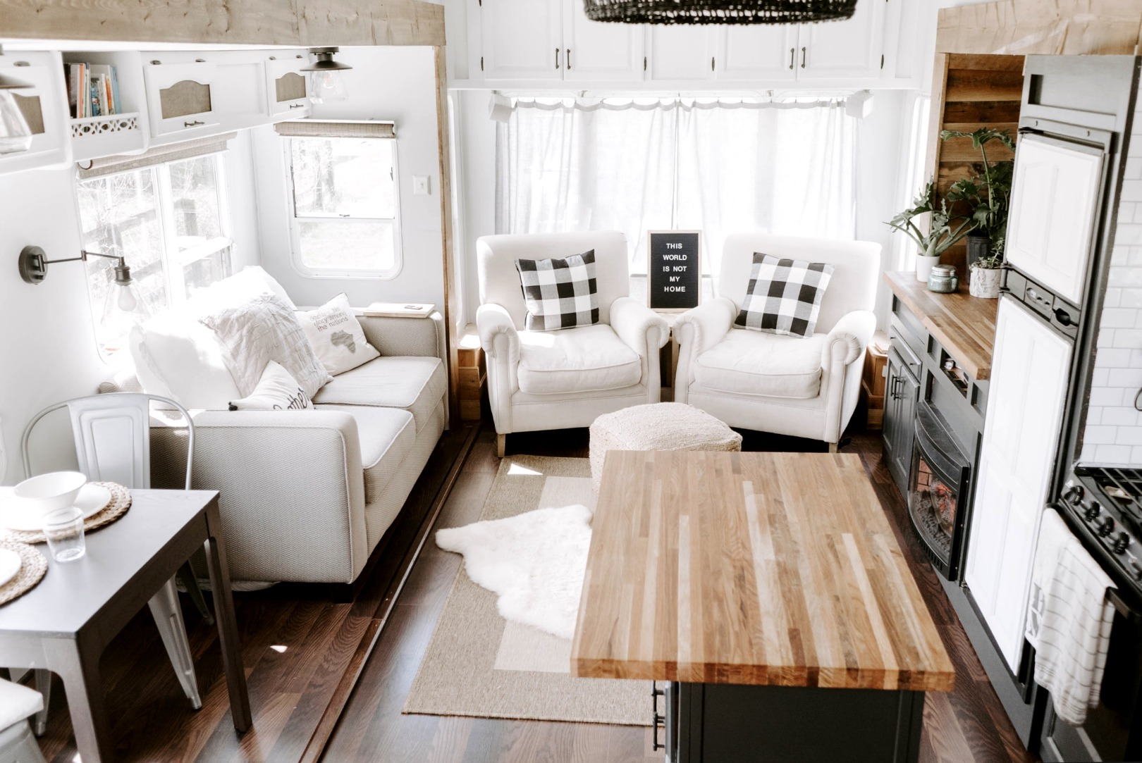 Small Space Living Feature- You won\'t believe this RV! - Nesting ...
