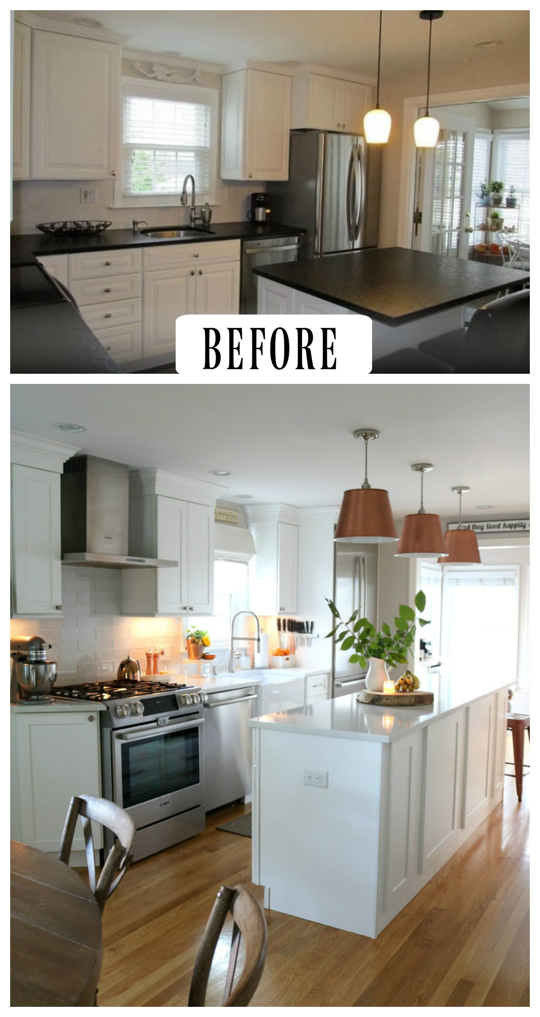 27 Inspiring Kitchen Makeovers- Before and After