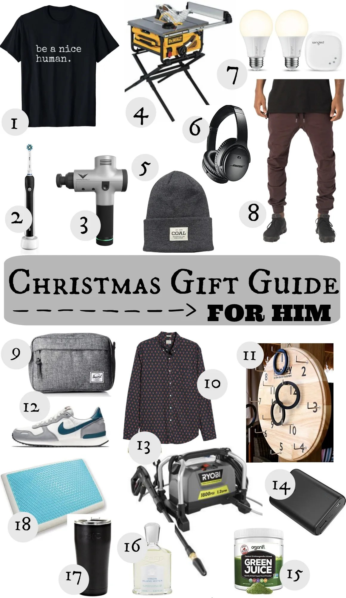 Christmas Gift Guide For Him Nesting With Grace
