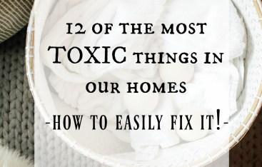 12 of the Most Toxic Things in your Home