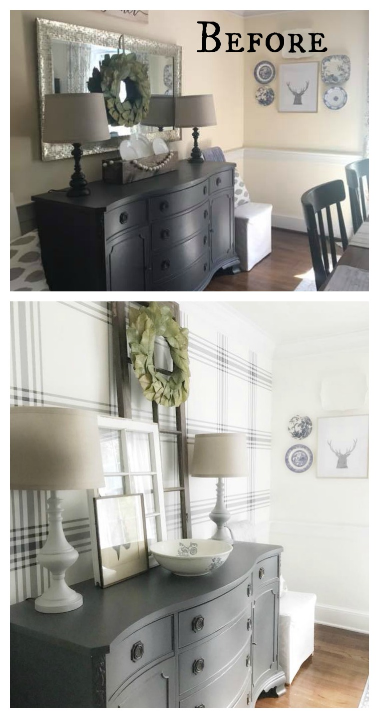 40 Wallpaper Transformations That Will Blow You Away Nesting With Grace