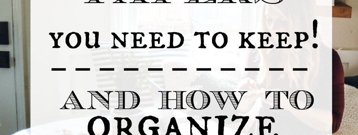 Guide on What Papers to Keep and How to Keep Papers Organized!