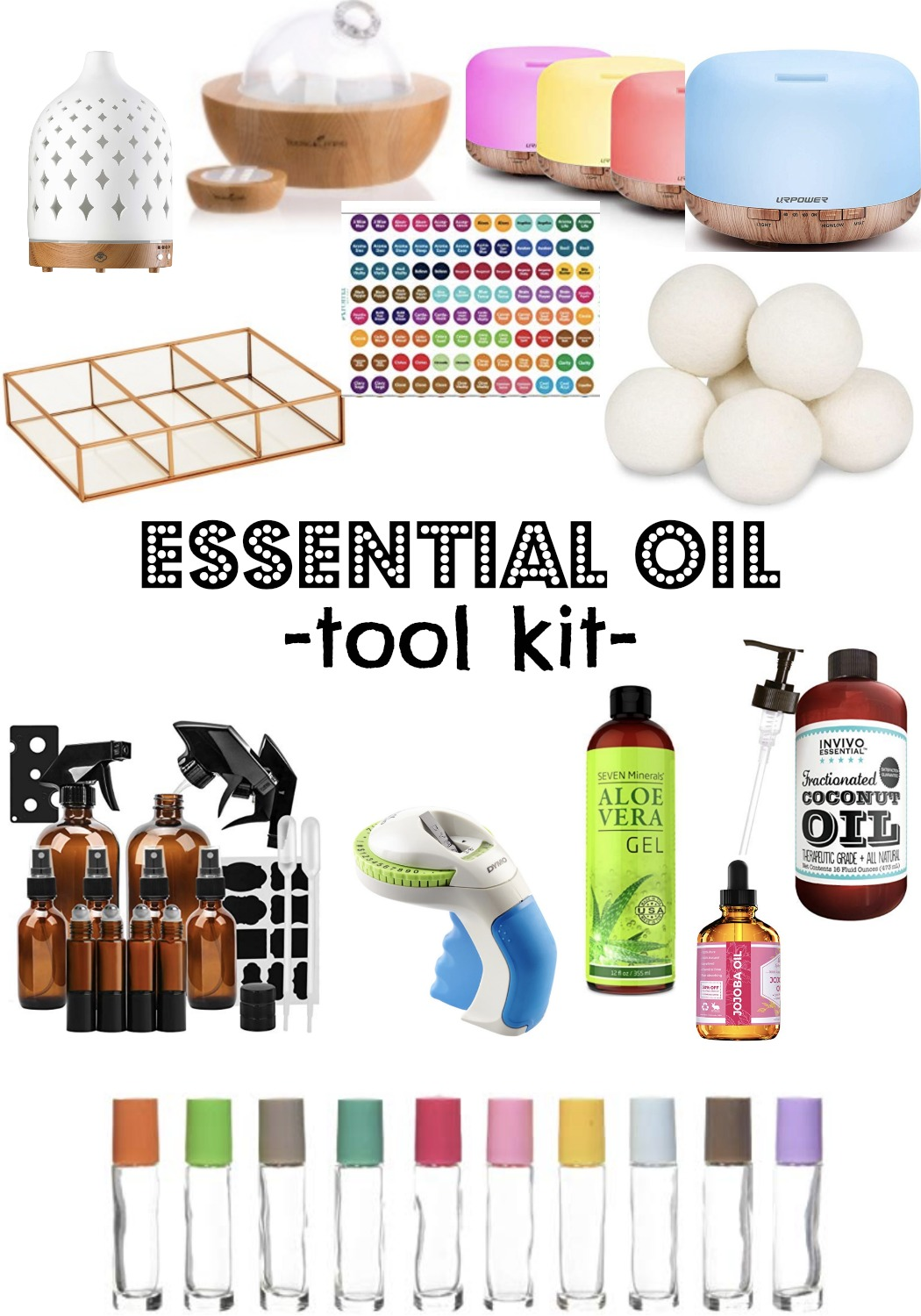 Essential Oil Tool Kit Nesting With Grace