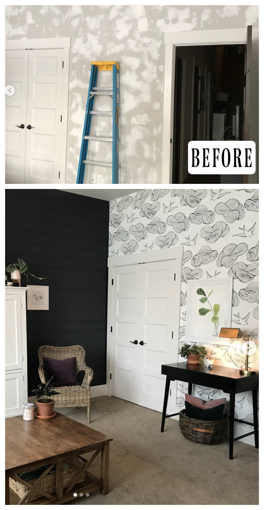 40 Wallpaper Transformations That Will Blow You Away Nesting