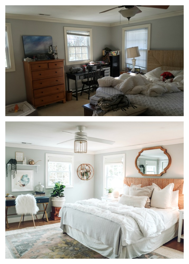 Master Bedroom Makeover With Home Office Nesting With Grace Impressive Home Office In Master Bedroom