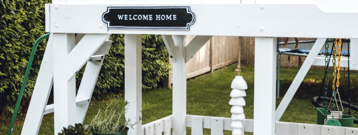 Painted Play Set and Backyard Updates