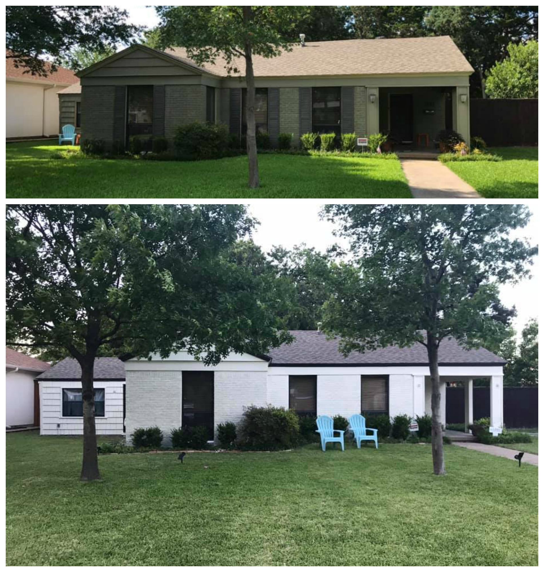 Over 20 Painted Brick And Stone Transformations Nesting With Grace