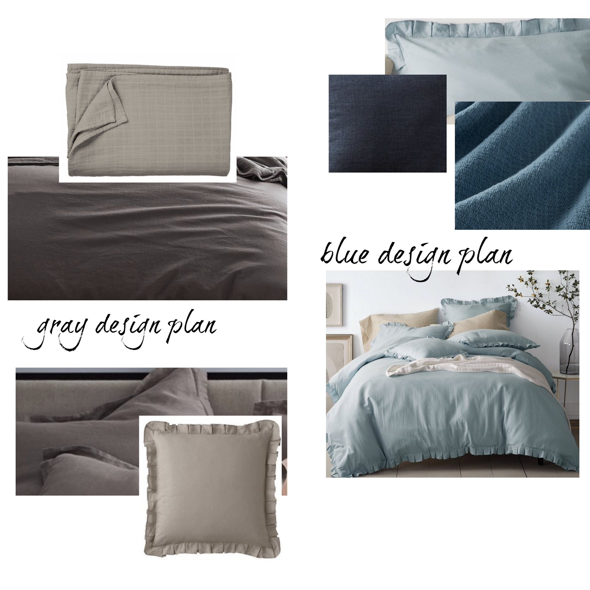 Fluffy Bedding Basics- How to Pull it all Together