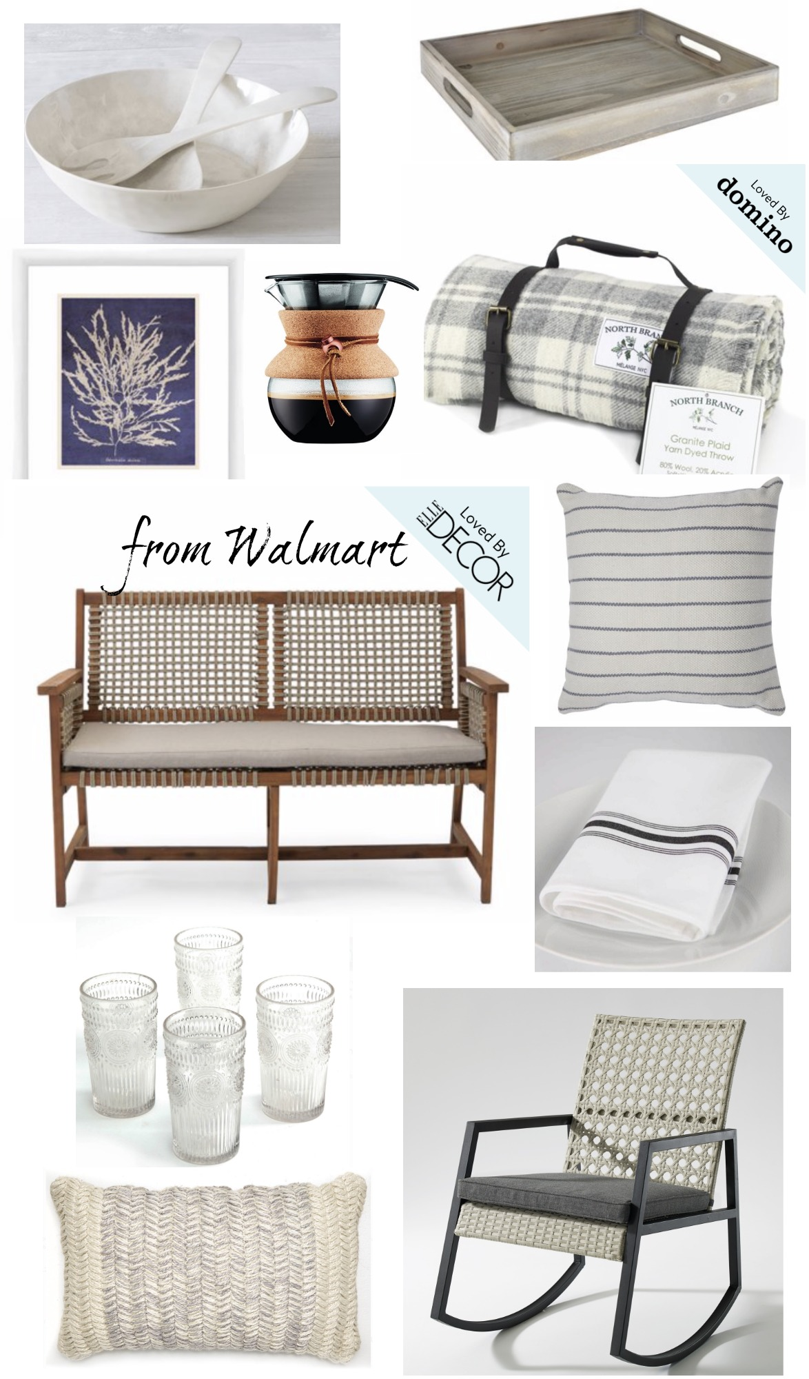 Elle Decor Magazine Favorites from Walmart