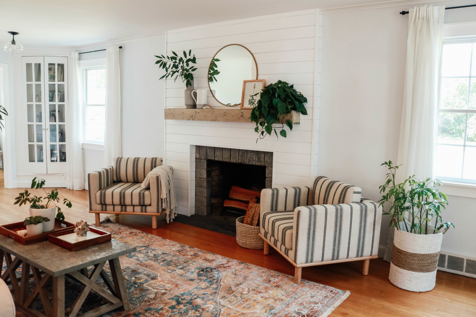 Living Room Affordable Cozy Makeover - Nesting With Grace