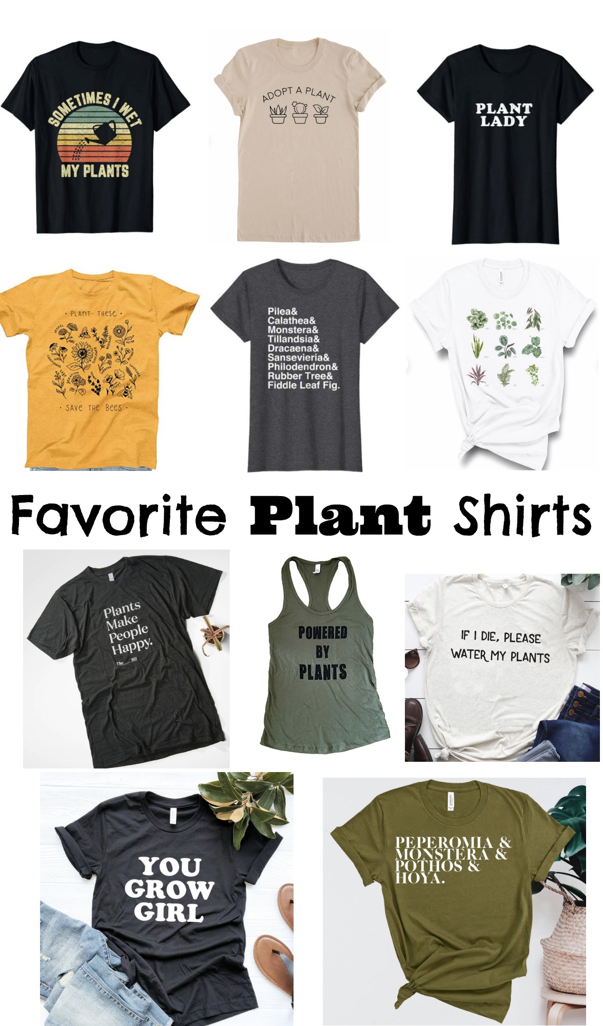 Favorite Plants Shirts