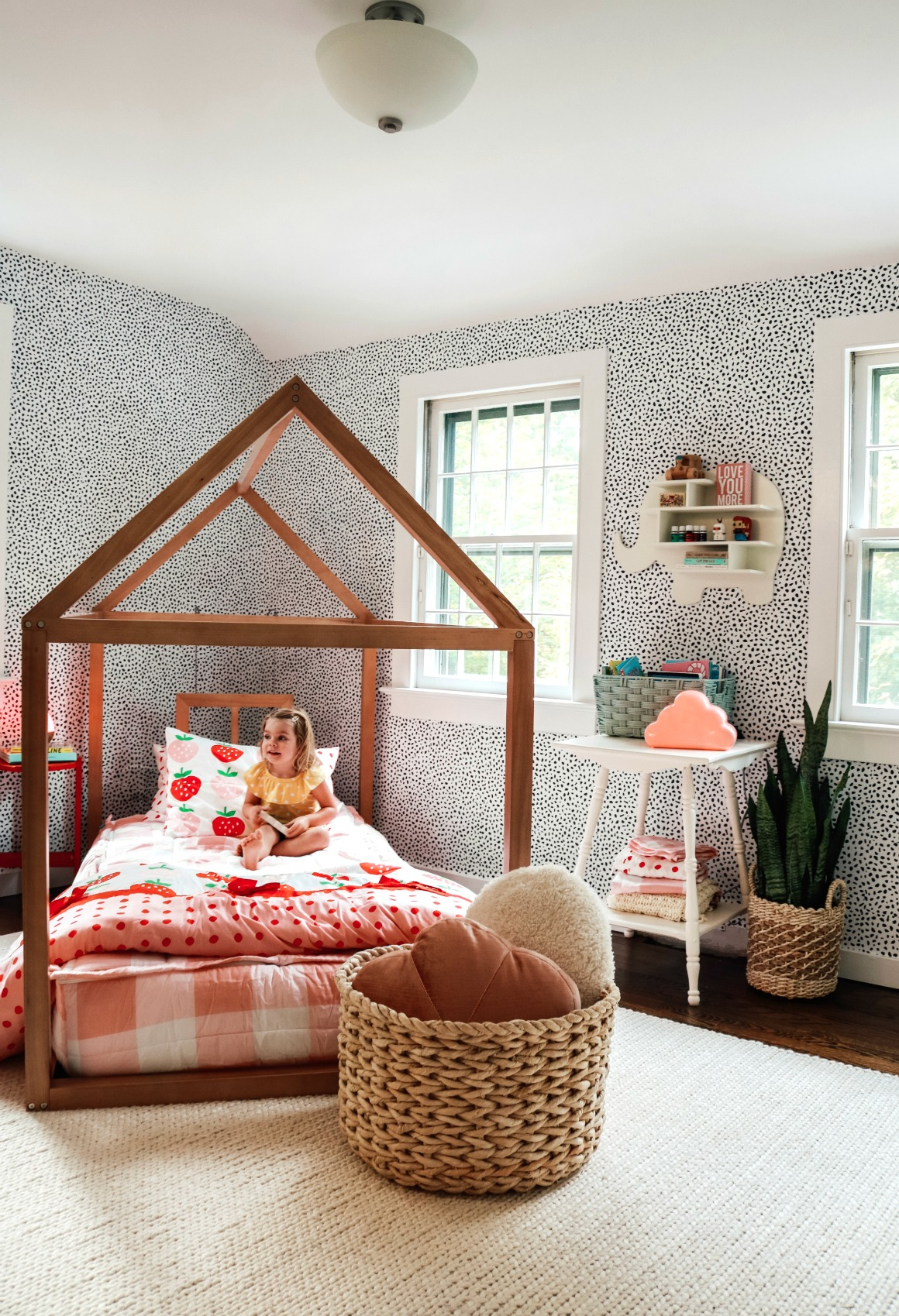 Girls Toddler Bedroom Makeover Drew Barrymore Collection