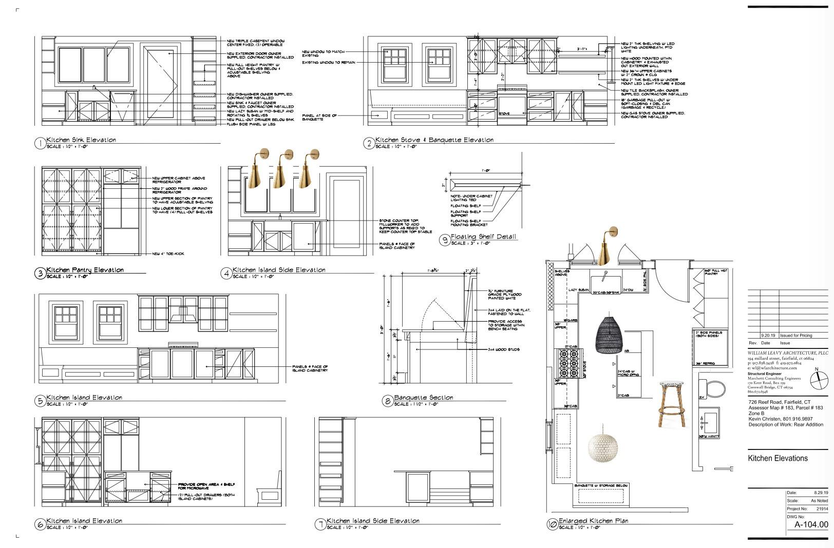 Cape Remodel- Elevation Plans
