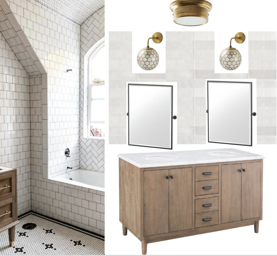 Bathroom Remodel- Favorite Affordable Vanities and Plan