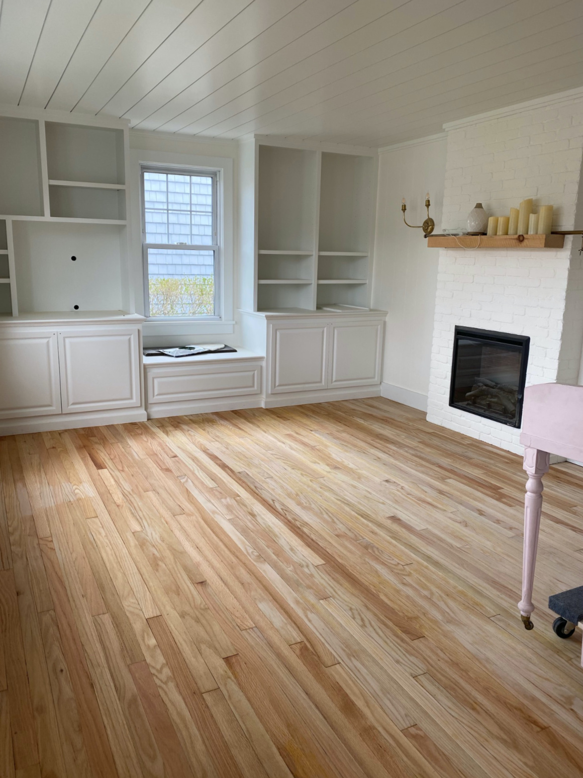 Our Refinished Oak Floors And Details Nesting With Grace