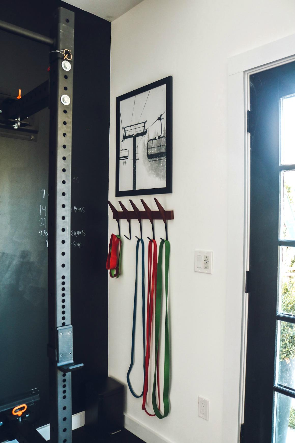 Home Gym Ideas- Gym Ideas- Industrial Decor- Gym - Pool House- Shed