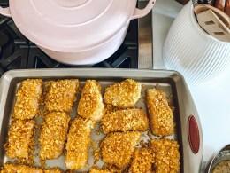 Salmon Recipe- Plantain Crusted Cod Fish Recipe- Paleo Dinner Ideas-