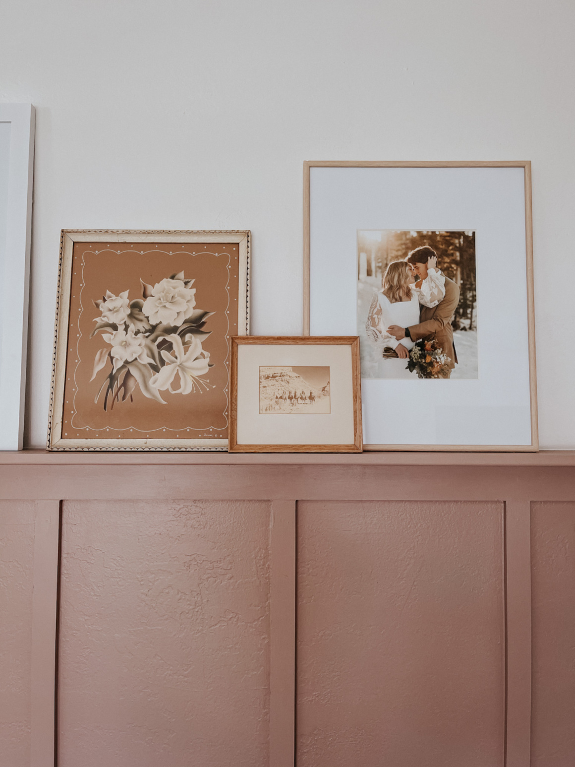 Gallery Wall with Frame TV and Favorite Art Downloads Art Printables